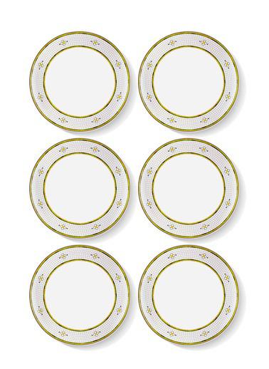 The Mia Patio Servis Tabağı 6 Lı Set - 26 cm Renkli